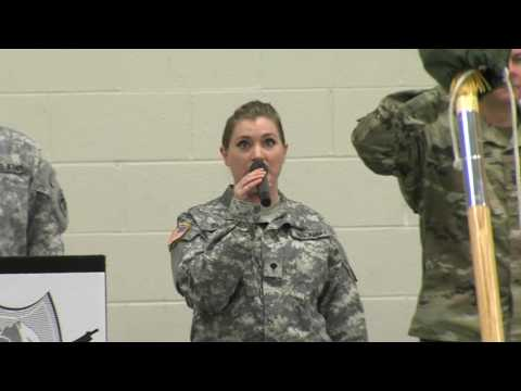 81st SBCT Colors Casing/Uncasing & Re-Patching Ceremony