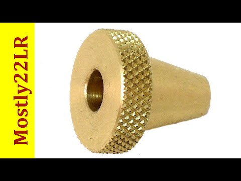 Brass muzzle guard for cleaning rods