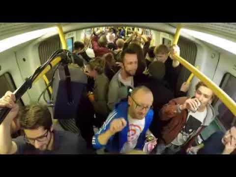 Metro techno with Danish talent Anastasia Kristensen playing on the Copenhagen underground