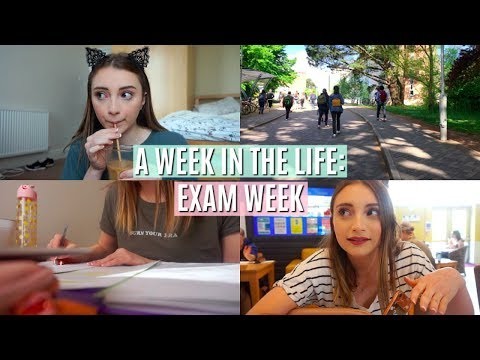 A WEEK IN THE LIFE OF A UNI STUDENT | EXAM WEEK EDITION!!
