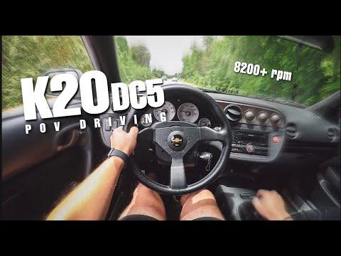 K20 RSX TYPE S POV DRIVE (LOUD VTEC!)