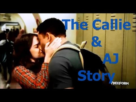 The Callie and AJ story continued from the Fosters