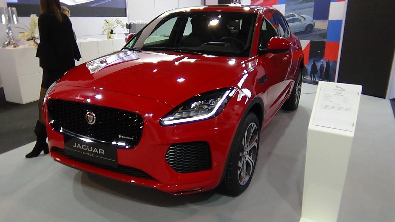 2018 Jaguar E Pace Fir...