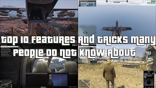 GTA Online Top 10 Features And Tricks Many People Do Not Know About