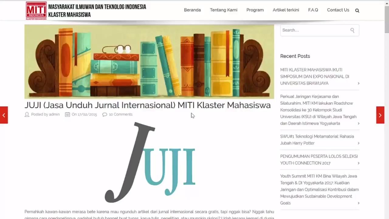 cara download jurnal internasional gratis 2017