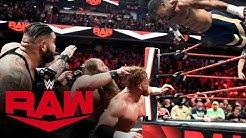 Viking Raiders & Street Profits vs. Rollins, Murphy & AOP: Raw, March 9, 2020