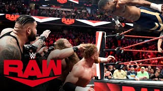 Viking Raiders & Street Profits vs. Rollins, Murphy & AOP: Raw, March 9, 2020