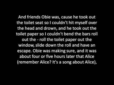 Arlo Guthrie - Alice's Restaurant Massacree lyrics