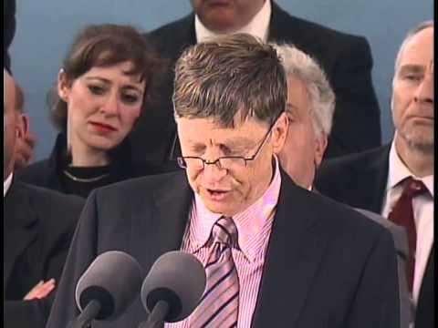 Bill Gates Harvard Commencement Address 2007