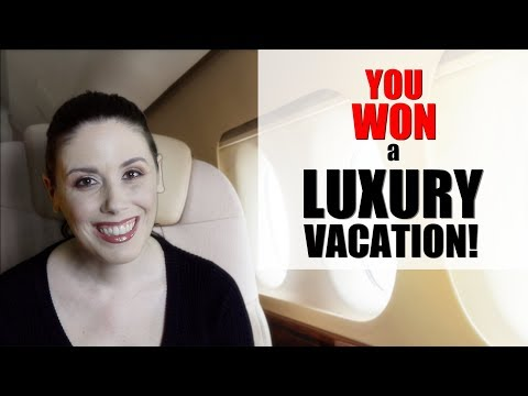 ASMR Role Play: Flight Attendant/Personal Assistant—You Won a Luxury Vacation! (plus massage)