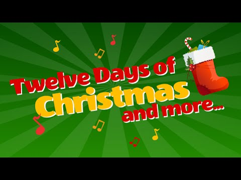 The Twelve Days Of Christmas- Children Song - YouTube