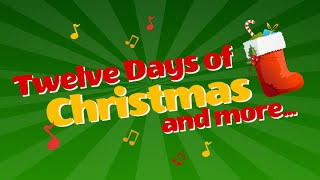 Twelve Days of Christmas Songs & More Songs Playlist | 38 Mins Xmas Fun | Children Love to Sing