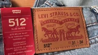 видео джинсы levis