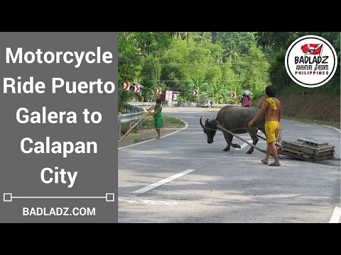 Puerto Galera to Calapan City Motorcycle Ride