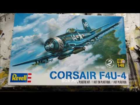 revell 1 48 f4u 4 corsair youtube