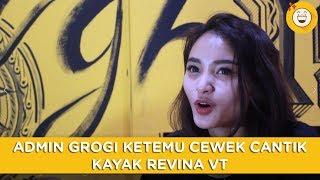 Kerja Di Dagelan: Admin Grogi Ketemu Cewek Cantik Kayak Revina VT
