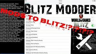 [WoTBlitz] Blitz Modder