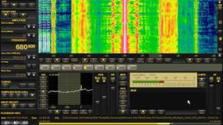 670 KHz WSCR Chicago | IBOC INTERFERENCE | Perseus SDR