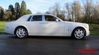 Аренда автомобиля Rolls Royce Phantom на свадьбу от салона Vesta