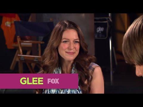 GLEE  FOX  Lounge: Melissa Benoist & Blake Jenner Rapid Fire