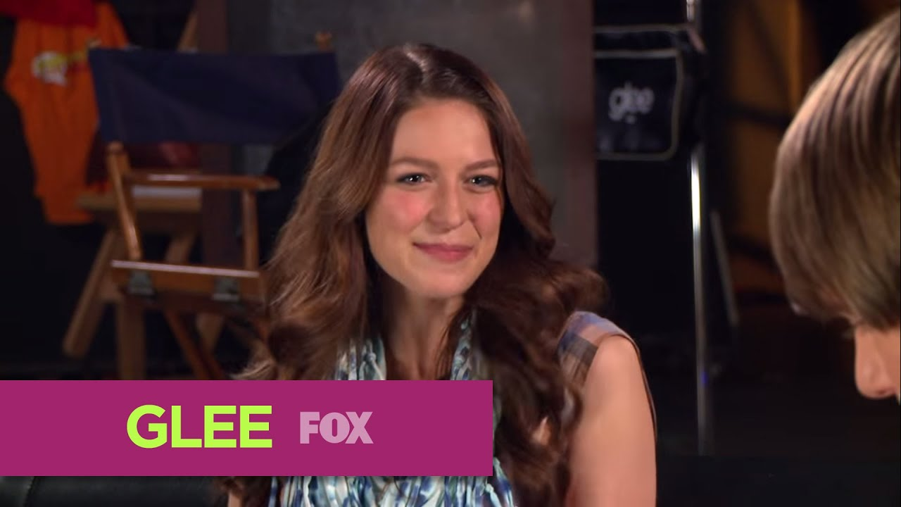 Glee Fox Lounge Melissa Benoist Blake Jenner Rapid Fire Youtube