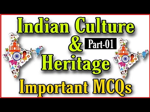 Indian Heritage and Culture MCQs    Part-01    JKSSB
