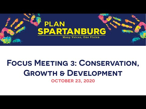 Planapalooza Focus Meeting 3: Conservation, Growth and Development