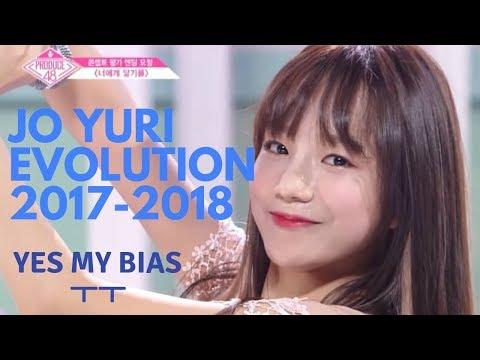 IZONE Jo Yuri Evolution (Idol School to Produce 48) 아이즈원 조유리 파트모음