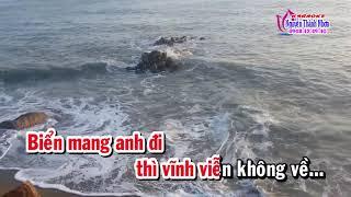 Karaoke vọng cổ NGƯỜI THIẾU PHỤ BÊN NẤM MỘ BA TRĂNG - DÂY ĐÀO [T/g Hoa Biển]