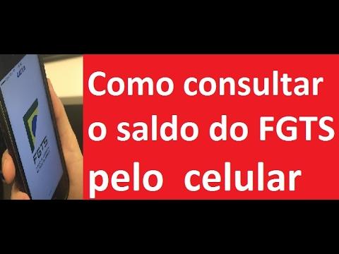 🔴 Como consultar o saldo do FGTS pelo celular !