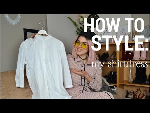 HOW TO STYLE : My Shirtdress | SISSY KYRIAKOU