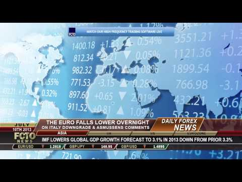 Daily Forex News July 10th 2013