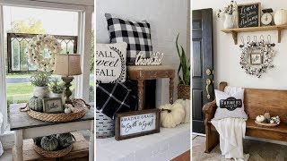❤DIY Rustic Shabby chic style Fall home decor Ideas❤ | Home decor & Interior design| Flamingo Mango
