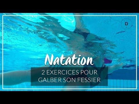 2 Exercices De Natation Pour Galber Son Fessier