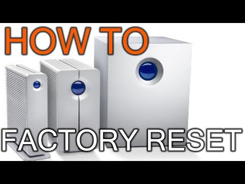 how to reset lacie external hard drive to factory settings