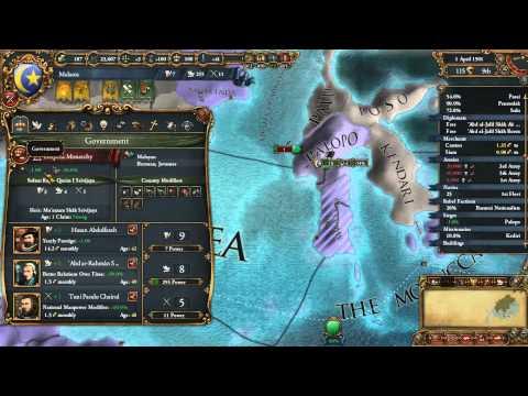 INDONESIA IS MINE!!!! -- Eu4 Gameplay -- Malacca Campaign Episode 7