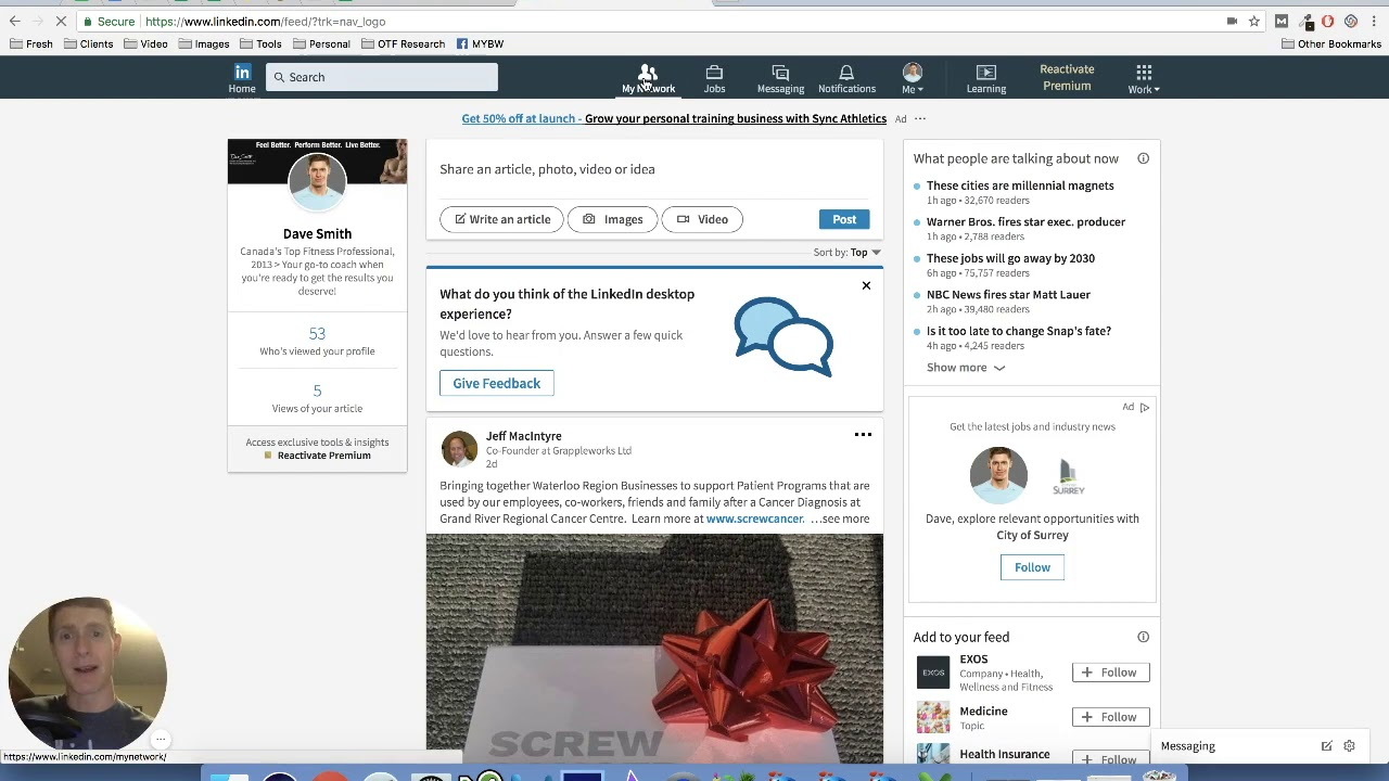 How To Get New Clients Via Linkedin Marketing For Online Personal