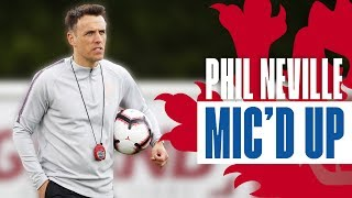 PHIL NEVILLE MIC'D UP | Coaching Small-Sided Games at Lionesses Training | Inside Access