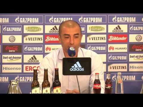 Schalke-Pressekonferenz zum Spiel gegen den SC Paderborn