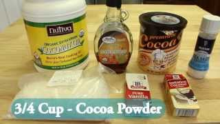 Paleo Brownie Cocoroon Recipe Video