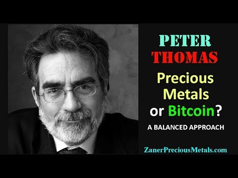 Peter Thomas: Precious Metals or Bitcoin? A Balanced Approach // gold silver palladium platinum
