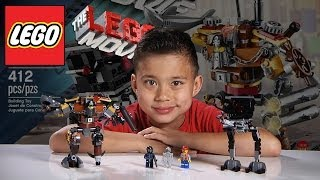 Repeat youtube video METALBEARD'S DUEL - LEGO MOVIE Set 70807 - Time-lapse Build, Unboxing & Review!