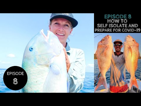 How To SELF ISOLATE And Prepare For CORONAVIRUS | MORETON BAY FISHING | SNAPPER | TUSK FISH | SQUID