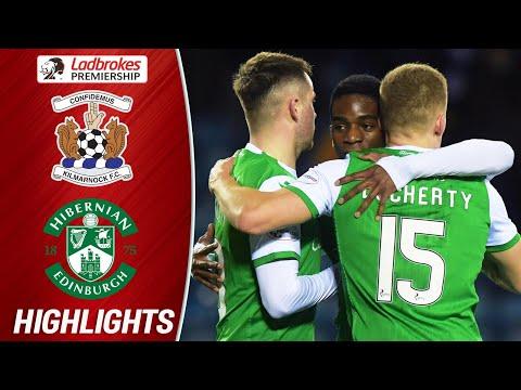 Kilmarnock 1-2 Hibernian   Jack Ross' Men Survive Late Scare   Ladbrokes Premiership