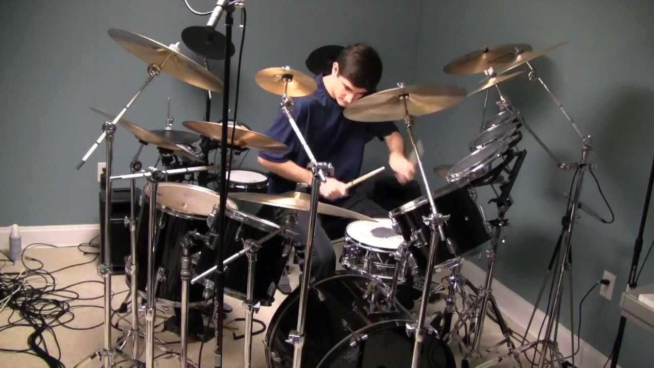 Neil Peart\'s O Baterista Drum Solo - Big Band Section - Drum Cover ...