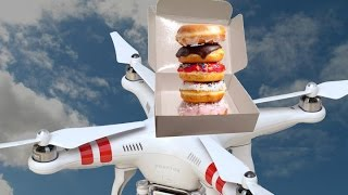 Drone-delivered donuts? Check (Tomorrow Daily 397) thumbnail