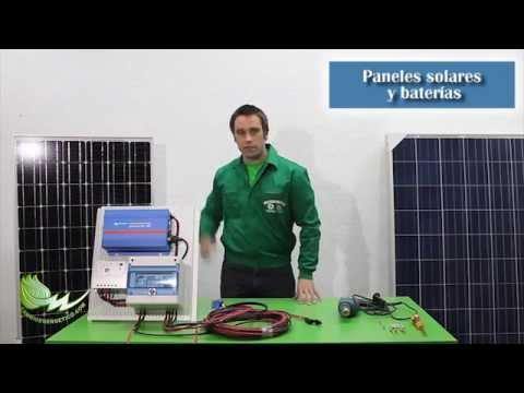 Kit solar autoinstalable para casa de campo  Tutorial de