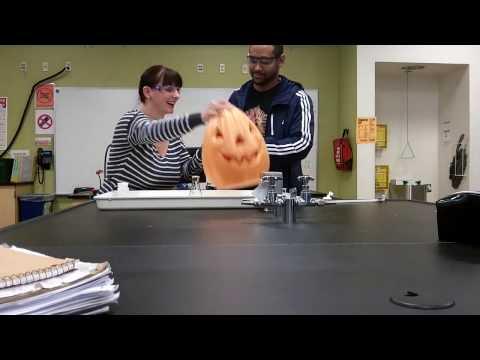 Hyrdogen Peroxide and a Pumpkin