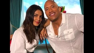 Dwayne Johnson talks about Priyanka Chopra | Baywatch