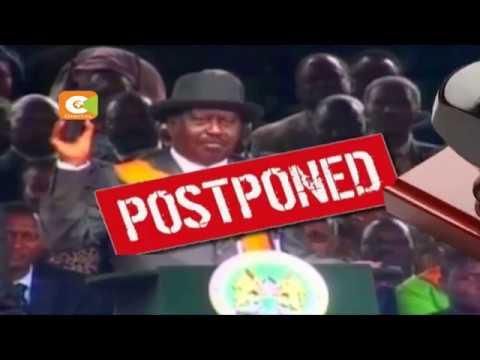 NASA calls off indefinitely Odinga swearing-in ceremony